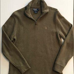 Polo by Ralph Lauren Men's 1/4 Zip Pullover